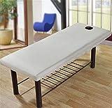 Beiswin Bürsten Beauty Bed Trampolin Decke Beauty Salon Matratze Staubschutz Bett Massage Bettdecke (grau)