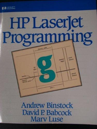 Hp Laser Jet Programming