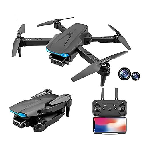 FMHCTN Droni Pieghevoli con videocamera HD 4K per Adulti, Quadricottero RC WiFi FPV Live Video, Mantenimento dell'altitudine, modalità Senza Testa