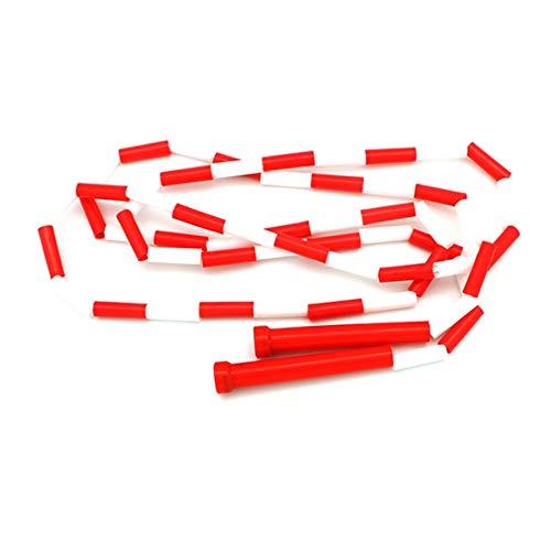 Tamkyo Erwachsene und Kinder Spring Seil Perle Rohr Springe Schnur Perle Grundlegende Spring Seil Einstellbare L?Nge