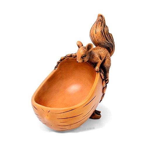 JUMP Kreative Nette Schlüssel Aufbewahrungsbox Pastoralen Fresh Eichhörnchen Ornamente Home Wohnzimmer Eingang Dekoration