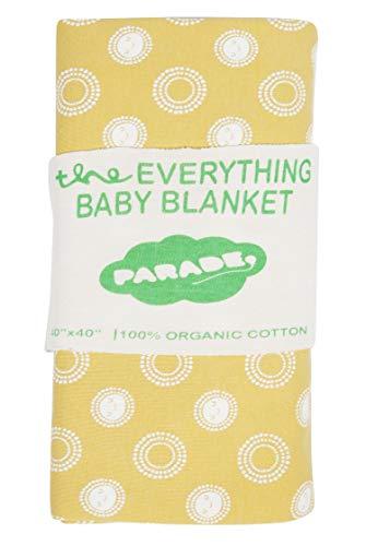 PARADE ORGANICS 'Everything' Baby Blanket Sunshine