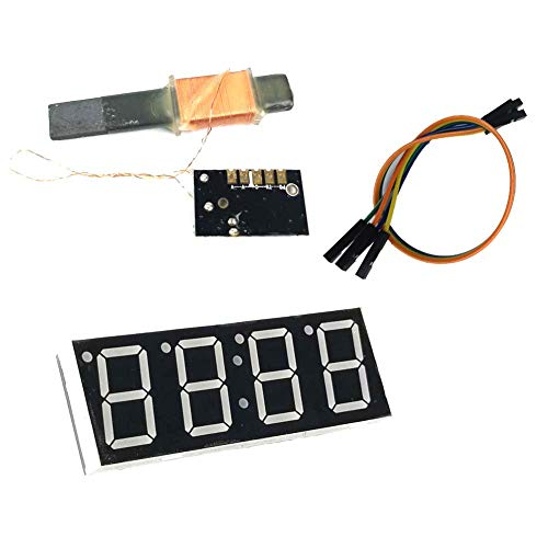 LS WWVB 60kHz NIST Radio Controlled Clock, 30dB High Gain Atomic Clock Receiver IC, 100mm Antenna 1.2 to 5V Operating Voltage for Radio/Radio Alarm Clock/Timer (Kit Set)