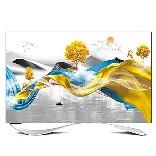 Huis 49-52in Indoor TV Dust Cover, Cover Type TV Screen Protector Voor Lcd Led Decoratie Televisie Set Cover Waterdichte…
