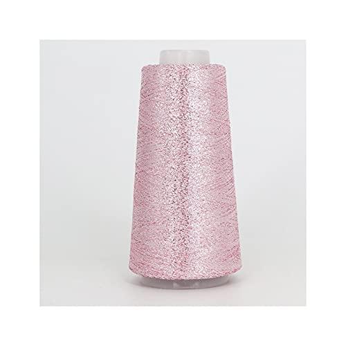 RXDZ Hilo de hilo fino de 50 g/rollo de hilo de moda brillante Arylic Partner para tejer productos...
