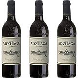 Arzuaga Vino Tinto Crianza - 3 botellas x 750ml - total: 2250 ml