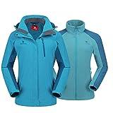 CAMEL CROWN Women's Outdoor Sports Jacket 3 in 1...