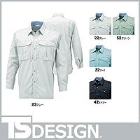 長袖シャツ カラー:32_サーフ サイズ:6L