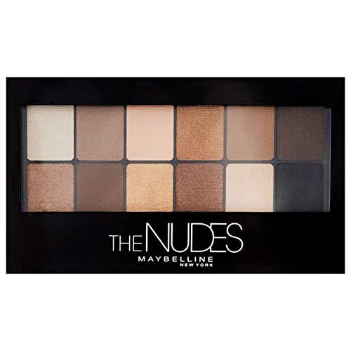 Maybelline New York The Nudes, Paleta de Sombras de Ojos