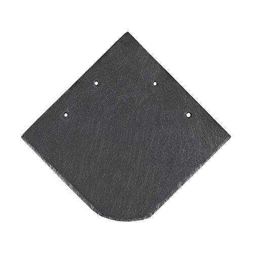 BMD - Naturschiefer 20 x 20 Universal Bogen 5m² (200 Stück) spanischer Markenschiefer Schiefer Natur Schieferplatten