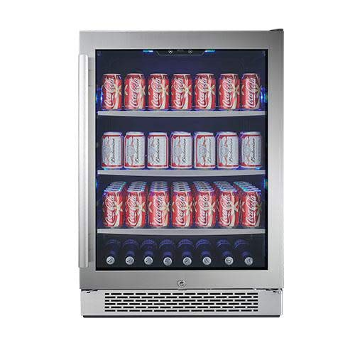 "Avallon ABR241SGRH 140 Can 24"" Built-In Beverage Cooler - Right Hinge"