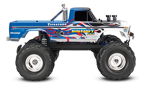 RC Auto kaufen Monstertruck Bild 4: Traxxas Bigfoot No.1 Brushed 1:10 RC Modellauto Elektro Monstertruck Heckantrieb RtR 2,4 GHz*