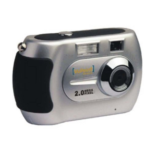 VuPoint DC-ST201-VP 2.0MP Digital Camera (Silver)