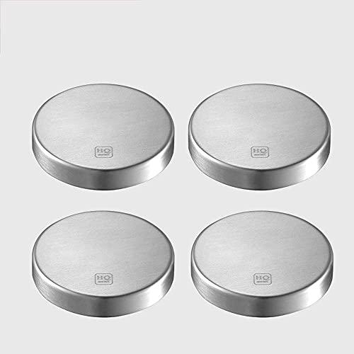 HYDL Colgador Utensilios Cocina, Potente portacuchillas electromagnético autoadhesivo, portacuchillas electromagnético autoadhesivo, sin taladrar, montado en la pared