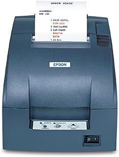 Epson TM-U220B, Impact, Two-color printing, 6 lps, Ethernet, Auto-cutter, Auto-Status, PS-180 Power supply, Dark Gray (Renewed)