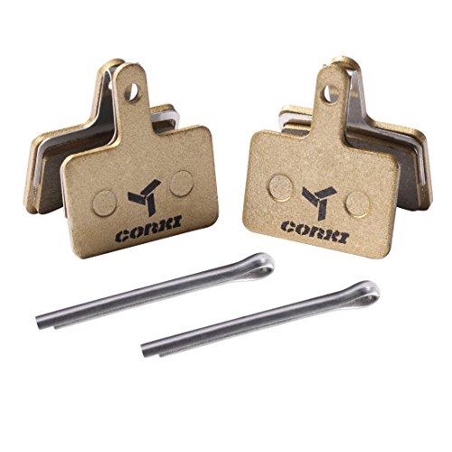 2 Pairs Multi-Metallic Disc Brake Pads for TRP Tektro Shimano Deore Br-M575 M525 M515 T615 T675 M505 M495 M486 M485 M475 M465 M447 M446 M445 M416 M415 M395 M396 M375 M315 M355 C601 C501 DP-B01S