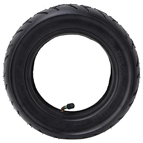 VGEBY1 Aufblasbarer Rollerreifen, 10-Zoll-Vollgummireifen mit geringem Gewicht und Schlauchsatz Kompatibel mit Mijia M365 Elektroroller-Reifenrad-Ersatz
