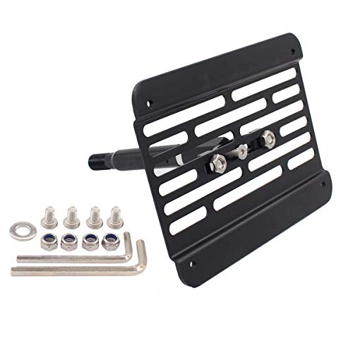 XtremeAmazing Front Bumper Tow Hook License Plate Mount Bracket Holder...