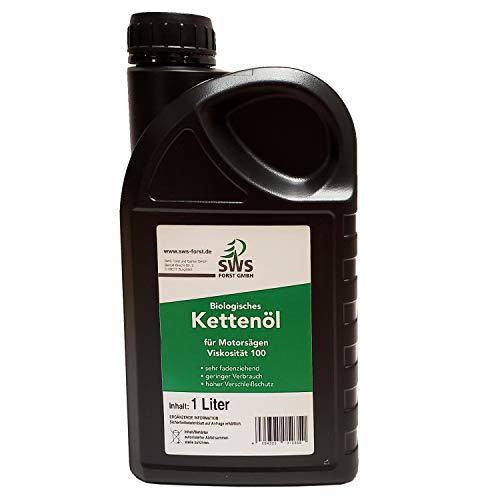 Aceite biológico para cadenas de motosierra 100, bidón de 1 litro