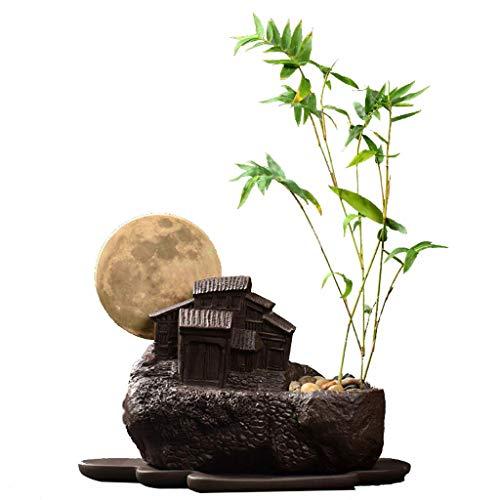 NHLBD Home decoratie/Feng Shui tafel Creative Potted Bonsai Antiek Paars Zand Bloempot Binnen Desktop Persoonlijkheid Groen Plant Grote Ademende Bloem Met Lade A