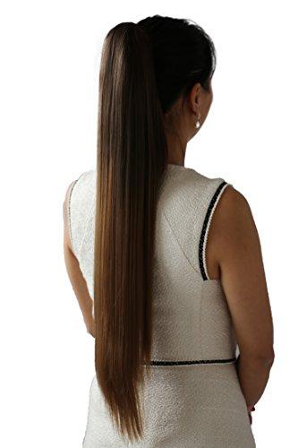 PRETTYSHOP Clip de en las extensiones postizos extensiones de cabello pelo liso...