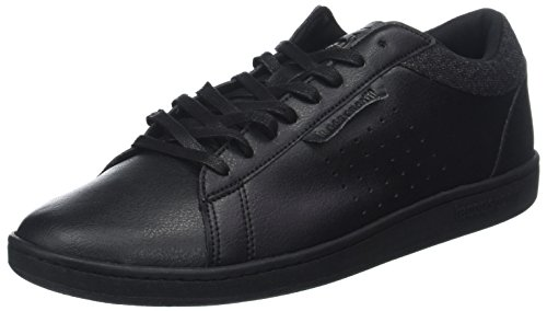 Le Coq Sportif Courtset Craft Black, Baskets Hommes, Noir, 43 EU