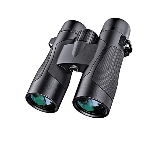 DFHT Binoculares Profesionales Impermeables, binoculares de visión Nocturna de Baja luz, Recubrimiento de múltiples Capas, Ligero, Compacto y versátil, para observación de Aves, Viajes