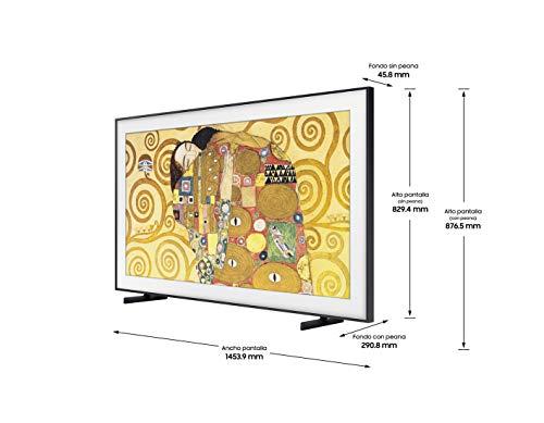 Samsung QLED 4K 2020 65LS03T Smart-TV, 65 Zoll, 4K UHD, HDR 10+, Intelligenz, Multi-View, Ambient Mode, One Remote Control, Wandhalterung Nicht enthalten, mit integriertem Alexa