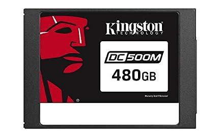 "Kingston Data Center DC500R, SEDC500M/480G, Unidad de estado sólido SSD, Enterprise 2.5"" 480 GB"