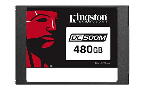 Kingston Data Center DC500R, SEDC500M/480G, Unidad de estado sólido SSD, Enterprise 2.5' 480 GB