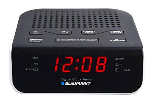 Blaupunkt CRWH Uhrenradio mit LCD-Display schwarz
