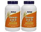 Now Omega 3-6-9 1000 mg, 500 Softgels