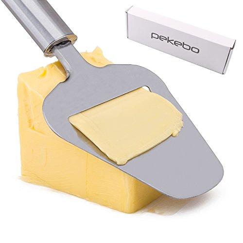 Affettatrice manuale per formaggio in acciaio inossidabile di alta qualità, per tagliare fette di torte o affettare patate e verdure, idea regalo per la festa della mamma
