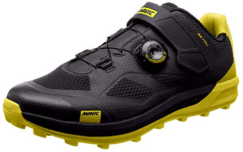 MAVIC XA Pro MTB Fahrrad Schuhe schwarz/gelb 2019: Größe: 46