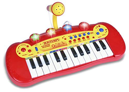 Bontempi 12 2931 Elektronisches Keyboard, Mehrfarben