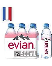 Evian Nog natuurlijk mineraalwater, 6 x 50 cl