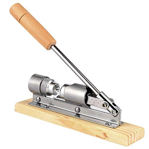 Breeezie Mechanische Holzhandpresse Walnuss Cracker Metallnuss Cracker Nussknacker Walnuss Zange Küchenwerkzeuge