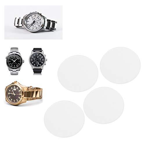 Piezas de repuesto para lentes de reloj, cristal de reloj resistente a los arañazos de zafiro resistente a altas temperaturas para reparación de relojero