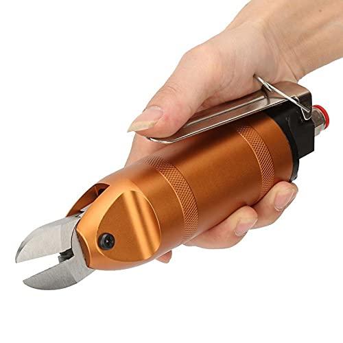Pinza neumática de aire, tijeras de corte de aire Tubo de aire adecuado Pinza de aire de 8 * 5 mm, para cortar el alambre de latón de acero inoxidable de hierro plástico(HS20-S5)