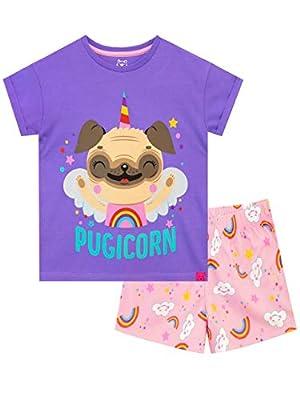 Harry Bear Pijamas para niñas Pug Unicornio Multicolor 11-12 Años