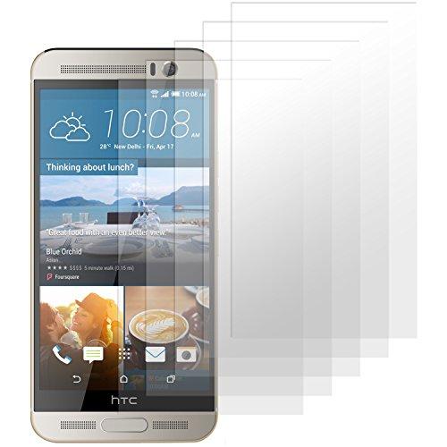moodie Bildschirmschutzfolie für HTC One M9+ [4 Stück] Premium Folien Kristallklar mit Anleitung für HTC One M9 Plus (Nicht für Das Normale M9 geeignet)