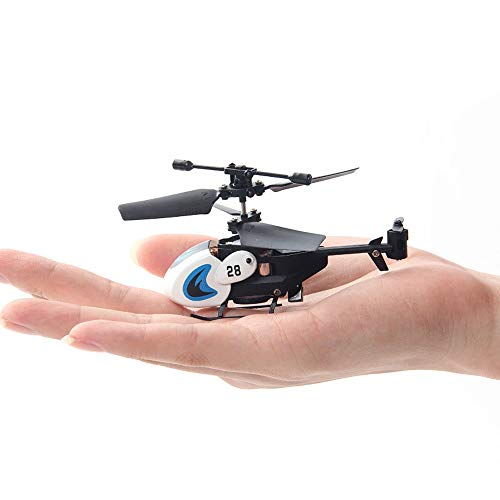 LOGO Fingertip Hubschrauber 3.5 Kanal Mini-Hubschrauber-Drohne Tasche Flugzeug Tropfen Resistant Fernbedienung Flugzeug Fernbedienung Modell Wiederaufladbare Spielzeug der Kinder Induction Flugzeug Ki
