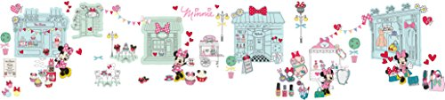 Worlds Apart 865060 Stickers Disney Minnie Mouse repositionnables, Rose