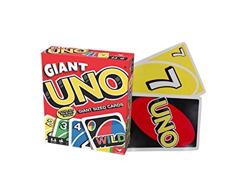 Spin Master Games 6038083 – Giant UNO met enorme kaarten XXL UNO