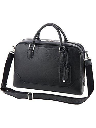 [ペッレ モルビダ] ビジネスバッグ ブリーフケース 本革 メイデン ボヤージュ メンズ ブラック PM-MB044-BK