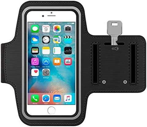 Running Armband Reflective Sports Gym Workout Case Cover Band Strap Compatible with Samsung product image