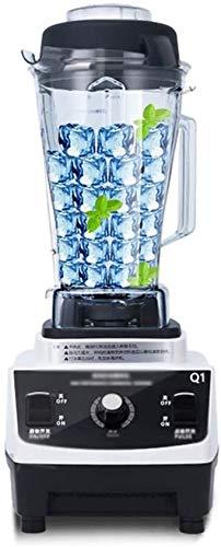Blender Smoothie Blender professionnel Blender Countertop, 1200W Smoothie haute vitesse Blender/Mixer for Shakes et smoothies, mélangeur commercial Crusing glace, congelé Desser avec minuterie