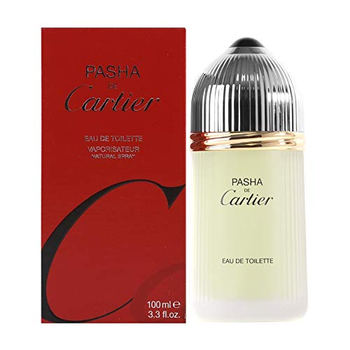 Cartier Pasha De Cartier Spray for Men, 3.3 Fluid Ounce