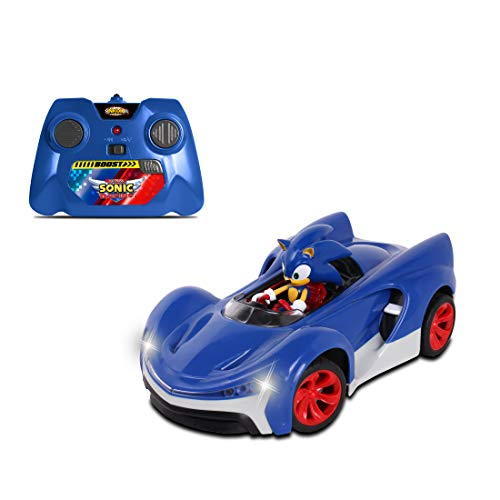 NKOK Team Sonic Racing 2.4Ghz Remote Controlled Car with Turbo Boost - Sonic The Hedgehog, Abstract/Abstract