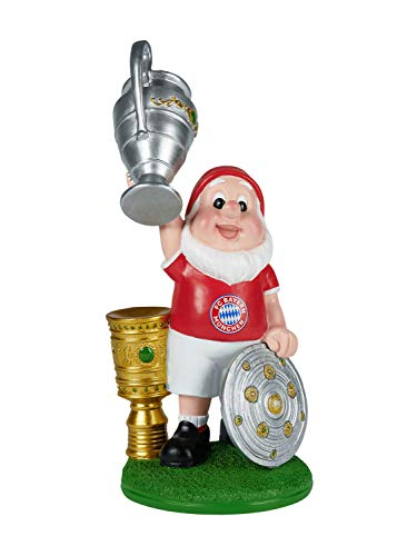 FC Bayern München Gartenzwerg Triple